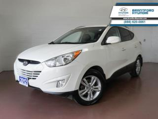 Used 2012 Hyundai Tucson LOW KM | FULLY SERVICED HERE | BLUETOOTH | HEATED SEATS  - $119 B/W for sale in Brantford, ON
