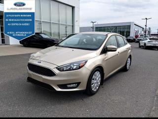 Used 2018 Ford Focus SEL berline for sale in Victoriaville, QC