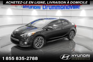 Used 2014 Kia Forte Koup SX + GARANTIE + CAMERA + A/C + WOW !! for sale in Drummondville, QC