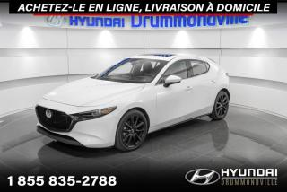 Used 2020 Mazda MAZDA3 Sport GT AWD + GARANTIE + NAVI + TOIT + CUIR + for sale in Drummondville, QC