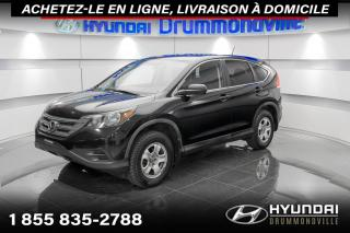 Used 2012 Honda CR-V LX + GARANTIE + CAMERA + A/C + WOW !! for sale in Drummondville, QC