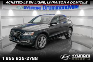Used 2017 Audi Q5 TECHNIK + GARANTIE + NAVI + TOIT + WOW ! for sale in Drummondville, QC