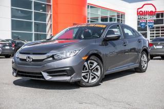Used 2017 Honda Civic GARANTIE LALLIER 10ANS/200,000 KILOMETRESINCLUSE* PLUS DE 75 CIVIC USAGEES PRETES POUR LIVRAISON RAPIDE for sale in Terrebonne, QC