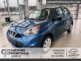 Used 2016 Nissan Micra S à hayon 4 portes BA **Très bas kilomét for sale in Rivière-Du-Loup, QC