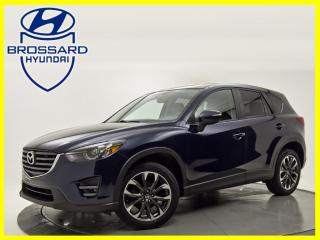 Used 2016 Mazda CX-5 AWD 4dr Auto GT A/C BI-ZONE BLUETOOTH TOIT OUVRANT for sale in Brossard, QC