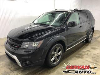 Used 2015 Dodge Journey Crossroad V7 Cuir 7 Passagers for sale in Shawinigan, QC