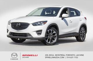 Used 2016 Mazda CX-5 GT Tech AWD GPS Cuir Toit Sieges Chauffants Bose 2016 Mazda CX-5 GT Tech for sale in Lachine, QC