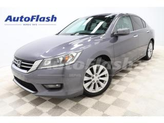 Used 2014 Honda Accord EX-L *CUIR *4-CYL *CAMERA *BLUETOOTH *AUTO for sale in St-Hubert, QC