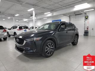 Used 2017 Mazda CX-5 GT AWD - CUIR + TOIT + JAMAIS ACCIDENTE !!! for sale in St-Eustache, QC