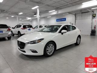 Used 2018 Mazda MAZDA3 Sport GS HB SPORT - CAMERA + S. CHAUFFANTS + TOIT OUVRAN for sale in St-Eustache, QC