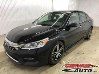 Used 2017 Honda Accord Sport Cuir/Tissus Toit Ouvrant Caméra Mags *Transmission Manuelle* for sale in Shawinigan, QC
