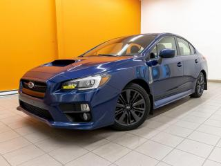 Used 2015 Subaru WRX AWD SIÈGES CHAUFFANTS CAMÉRA *TOIT OUVRANT* for sale in St-Jérôme, QC