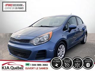 Used 2016 Kia Rio ** LX+ 5 PORTE * AC* CRUISE *BLUETOOTH * for sale in Québec, QC