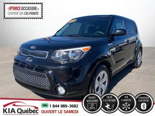 Used 2016 Kia Soul ** LX * AC * BLUETOOTH * 42525 KM * for sale in Québec, QC