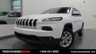 Used 2017 Jeep Cherokee LATITUDE + ENS. TEMPS FROID + REM. 4500L for sale in Trois-Rivières, QC