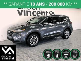 Used 2020 Hyundai Santa Fe LUXURY AWD ** GARANTIE 10 ANS ** Presque neuf! for sale in Shawinigan, QC