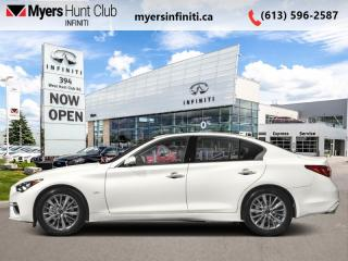 Used 2021 Infiniti Q50 Essential Tech  - Sunroof -  Heated Seats for sale in Ottawa, ON