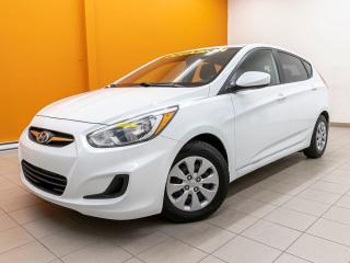 Used 2015 Hyundai Accent GL CLIMATISEUR BLUETOOTH *SIÈGES CHAUFFANTS* for sale in Mirabel, QC