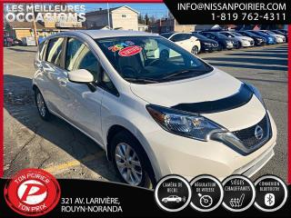 Used 2018 Nissan Versa Note SV (frais vip 395$ non inclus) for sale in Rouyn-Noranda, QC