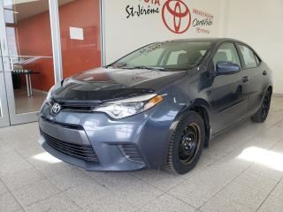 Used 2015 Toyota Corolla * LE * CAMÉRA DE RECUL *  SIÈGES CHAUFFANTS * for sale in Mirabel, QC