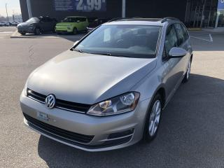 Used 2017 Volkswagen Golf Sportwagen DSG TSI Highline 4MOTION,CUIR,TOIT,MAGS+++ for sale in Mirabel, QC