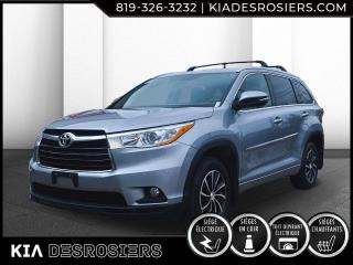 Used 2016 Toyota Highlander VUS XLE 4WD BAS KM CUIR TOIT GPS for sale in Val-David, QC