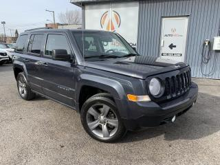 Used 2014 Jeep Patriot ***HIGH ALTITUDE,CUIR,TOIT,MAGS,A/C*** for sale in Longueuil, QC
