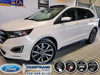 Used 2017 Ford Edge Sport 4 portes Traction intégrale for sale in Laval, QC