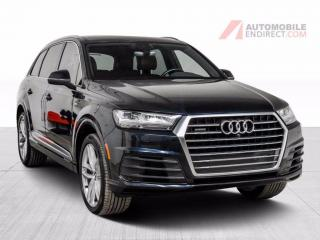 Used 2017 Audi Q7 TECHNIK QUATTRO V6 CUIR TOIT PANO MAGS NAV for sale in Île-Perrot, QC