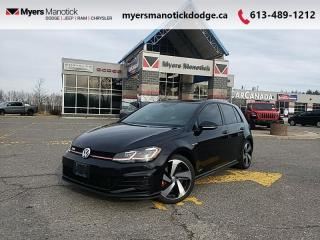 Used 2018 Volkswagen Golf GTI Autobahn  - Navigation - $223 B/W for sale in Ottawa, ON