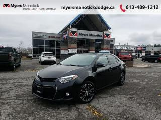 Used 2014 Toyota Corolla S  - Bluetooth -  Power Windows - $115 B/W for sale in Ottawa, ON