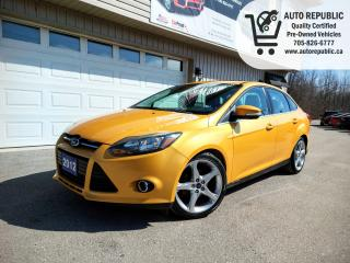 Used 2012 Ford Focus Titanium for sale in Orillia, ON
