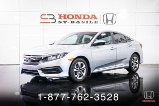 Used 2017 Honda Civic LX + AUTO + A/C + CAMERA + CRUISE + WOW! for sale in St-Basile-le-Grand, QC
