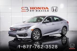 Used 2018 Honda Civic EX + AUTO + TOIT + A/C + CAMERA + WOW! for sale in St-Basile-le-Grand, QC