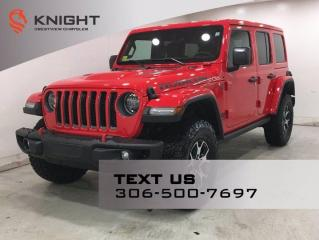 New 2021 Jeep Wrangler Unlimited Rubicon | Leather | Navigation | for sale in Regina, SK