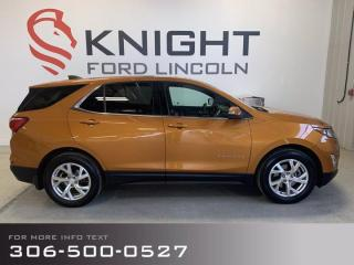 Used 2018 Chevrolet Equinox LT for sale in Moose Jaw, SK