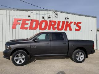 Used 2016 RAM 1500 Sport Crew Cab SWB 4WD for sale in Headingley, MB