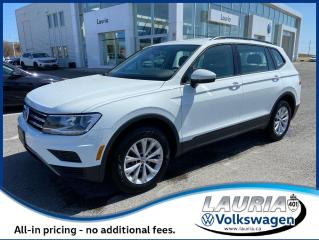 Used 2020 Volkswagen Tiguan 2.0T TRENDLINE 4MOTION AWD for sale in PORT HOPE, ON
