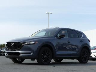 Used 2021 Mazda CX-5 ***GS*KURO*AWD*CUIR ROUGE*MAGS NOIR*DEMO for sale in St-Georges, QC
