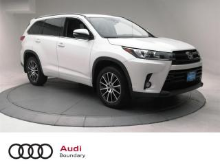 Used 2017 Toyota Highlander XLE AWD for sale in Burnaby, BC