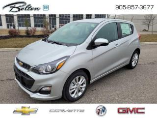 New 2021 Chevrolet Spark 1LT CVT -  Apple CarPlay for sale in Bolton, ON
