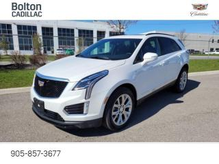 New 2021 Cadillac XT5 Sport - Navigation - Leather Seats - $411 B/W for sale in Bolton, ON