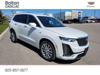 New 2021 Cadillac XT6 Premium Luxury - Navigation - $451 B/W for sale in Bolton, ON