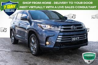 Used 2017 Toyota Highlander Limited AWD LEATHER INTERIOR for sale in Innisfil, ON