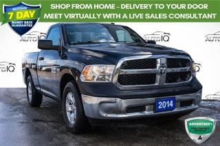 Used 2014 RAM 1500 ST VERY CLEAN LOCAL TRADE for sale in Innisfil, ON