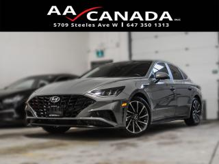 Used 2020 Hyundai Sonata Luxury|ACCIDENT FREE|LEATHER|PANO ROOF|NAVI for sale in North York, ON