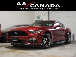 Used 2016 Ford Mustang ECO Boost for sale in North York, ON