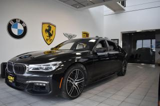 Used 2017 BMW 7 Series 750Li - M Sport - Long Wheelbase for sale in Oakville, ON