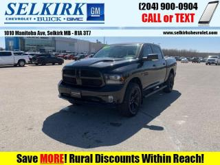 Used 2018 RAM 1500 Night  *LOADED, SPORT HOOD, SUNROOF* for sale in Selkirk, MB