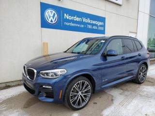 Used 2018 BMW X3 xDrive30i AWD - HTD LEATHER SEATS / PANO ROOF / NAVI / BACKUP CAM for sale in Edmonton, AB